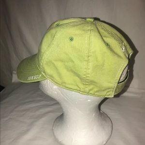 Nike Accessories - Nike Golf Swoosh Hat Green Line Lightweight